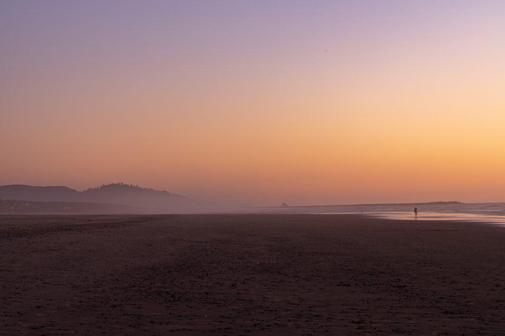 After Sunset Oregon Coast